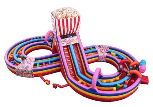 Candy Run Obstacle Course