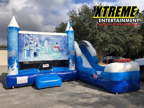 Winter Wonderland Castle Combo w/ Slide