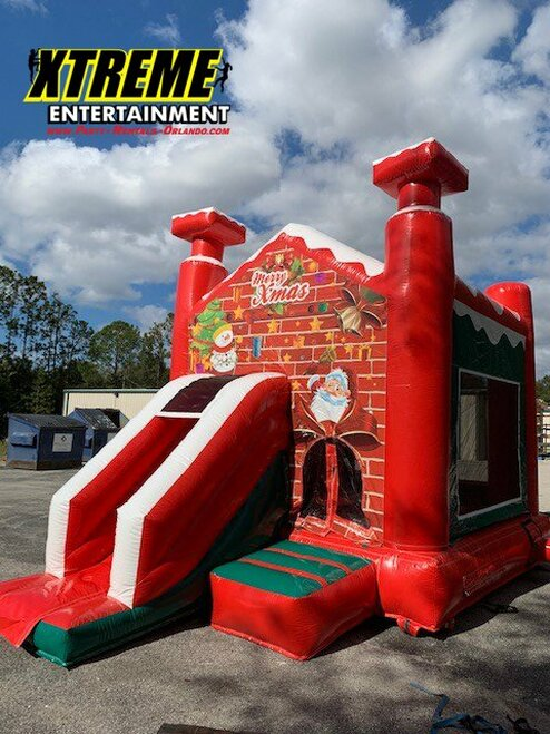 Santa House Combo with Slide
