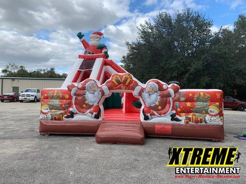 Christmas Playland and Slide