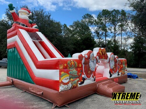 Christmas Playland and Slide