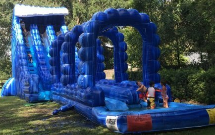Giant Slides-Obstacles-Bounce Houses