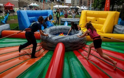 Interactive Fun & Competitive Attractions