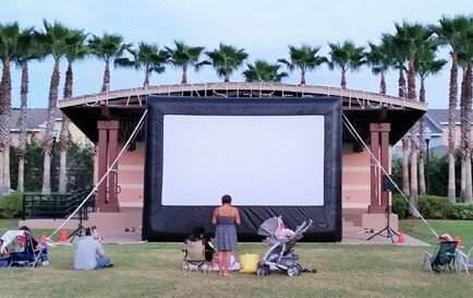 Movie / TV Screens & Photo Booths