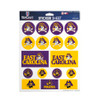 East Carolina Pirates Sticker Sheet