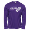Purple Long Sleeve 51st State Pirate Radio Tee