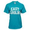 Tropical Blue East Carolina Rainbow Tee