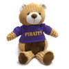 Brown Corduroy Bear with Pirate Tee