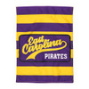 Garden Flag Purple and Gold Stripes
