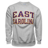 Oxford Reverse Weave Twill East Carolina Arch Crew