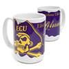 Alumni & Jolly Roger Scroll Coffee Mug