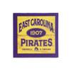 Purple & Gold ECU Pirates Fridge Magnet