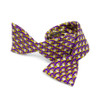 Purple Bowtie with Repeating Pirate Nations