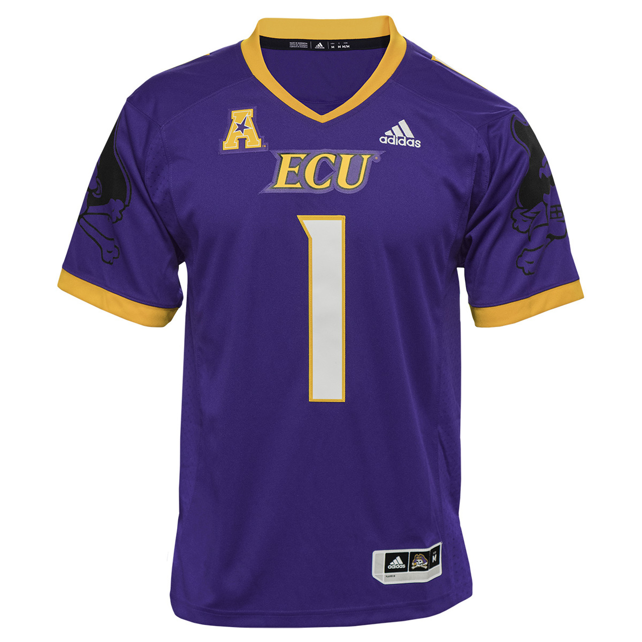official photos 9f848 67965 2018 Authentic Purple ECU Football jersey