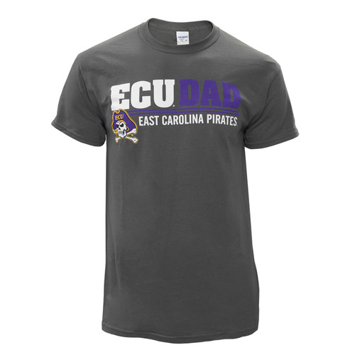 Charcoal ECU Dad Bar Tee
