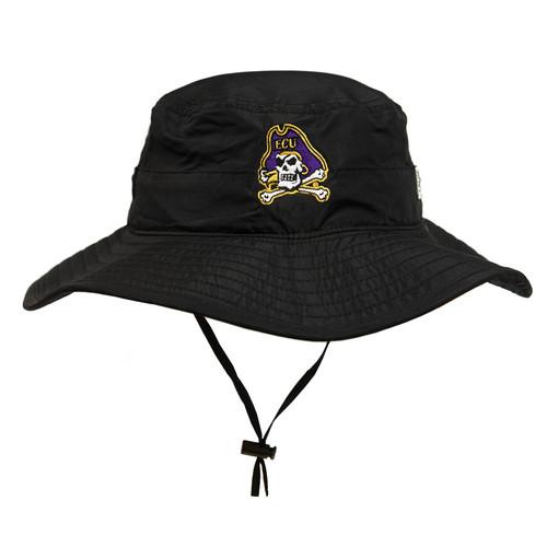 Black Jolly Roger Bucket Hat