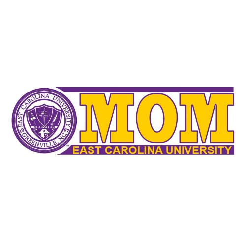 ECU Mom Bar Decal with Seal