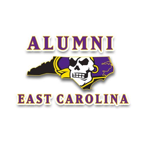 Alumni Pirate Nation ECU Decal
