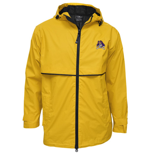 Gold  Jolly Roger New Englander Rainjacket
