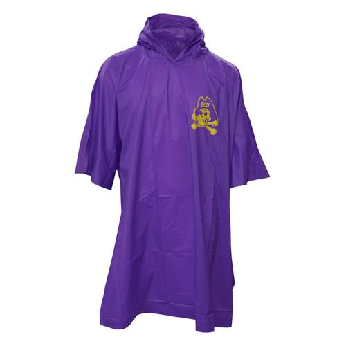 Purple Heavy Duty Jolly Roger Rain Poncho