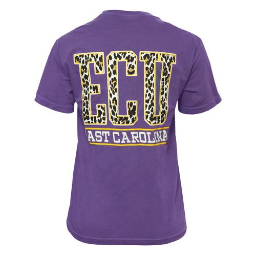 Purple Ladies ECU Cheetah Tee
