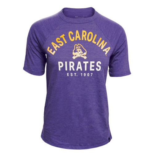 Purple Ladies Hombre ECU Pirates Tee
