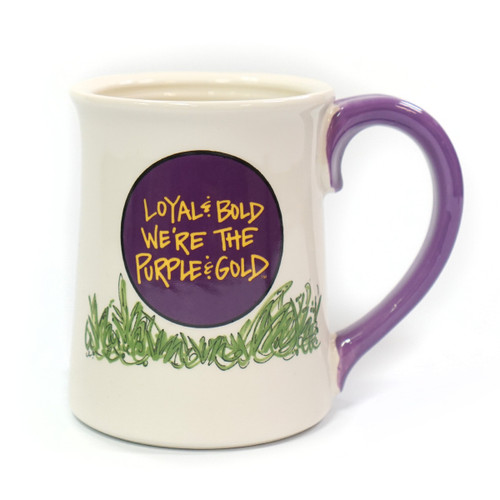 Loyal & Bold We're The Purple & Gold ECU Mug