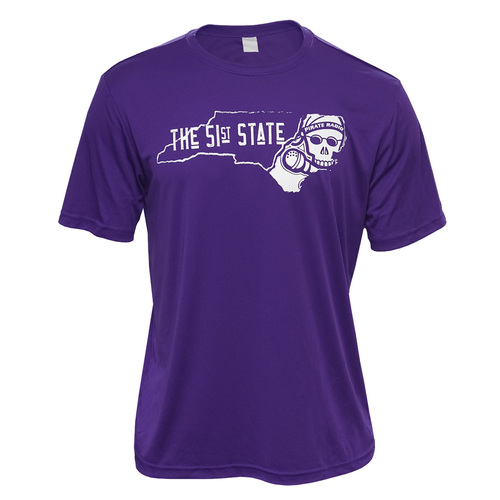 Purple 51st State Pirate Radio Tee