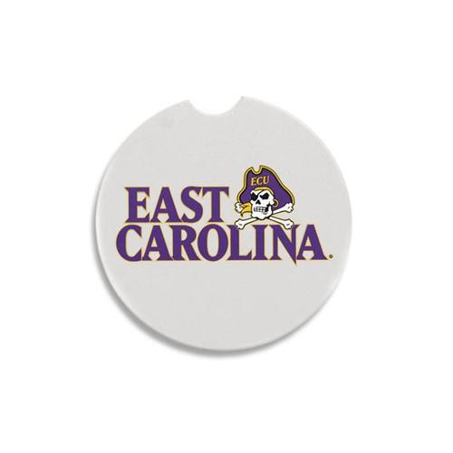 East Carolina & Jolly Roger Stone Car Coaster