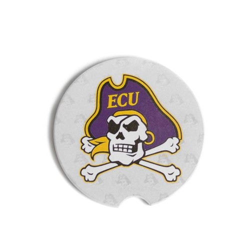 Jolly Roger Stone Car Coaster