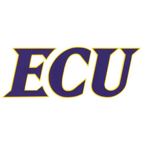 Purple & Gold ECU Decal