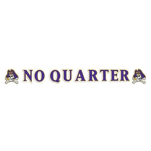 Jolly Roger No Quarter Strip Decal