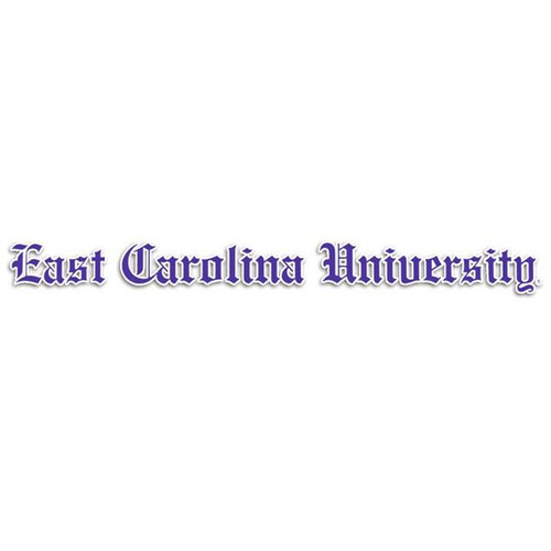 East Carolina Olde English Decal Strip