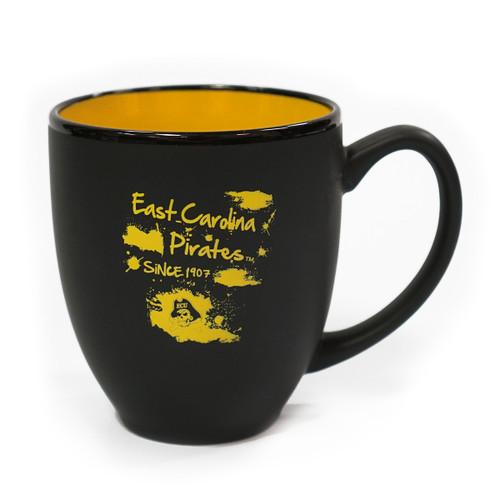Black & Gold East Carolina Bistro Coffee Mug