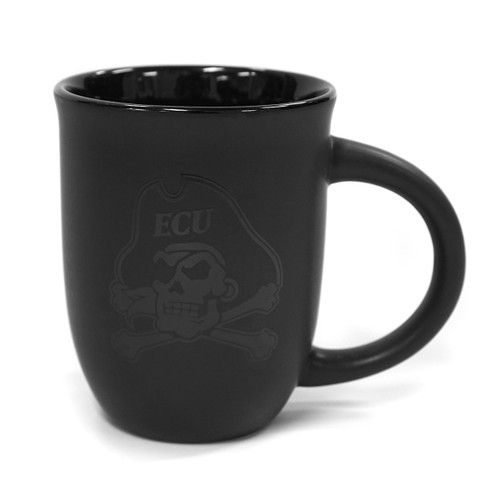 Black Out Jolly Roger Coffee Mug