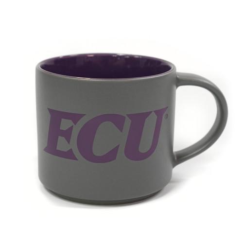 Matte Grey & Purple ECU Mug