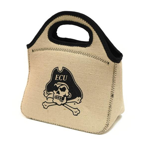 Burlap Jolly Roger Canyon Tote