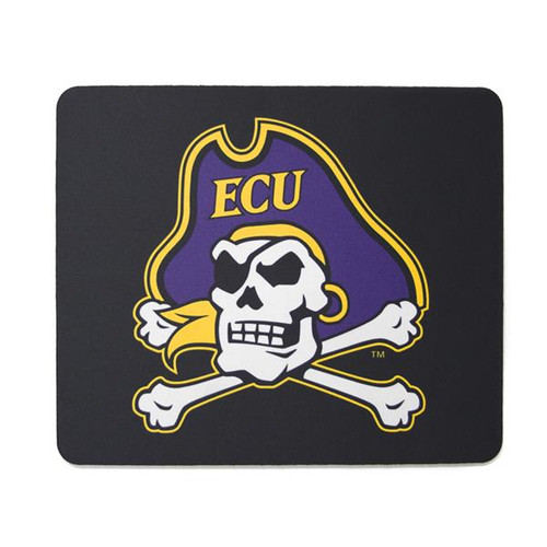 Black Jolly Roger Mouse Pad