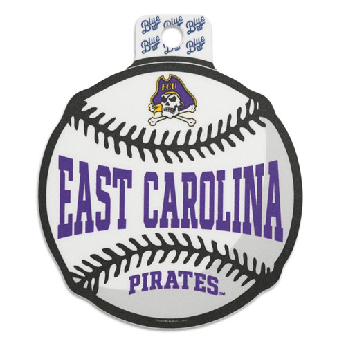 Vintage East Carolina Baseball Sticker