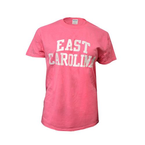 Pink East Carolina Rainbow Tee