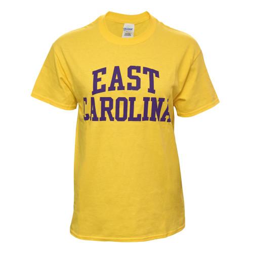 Daisy Yellow East Carolina Rainbow Tee