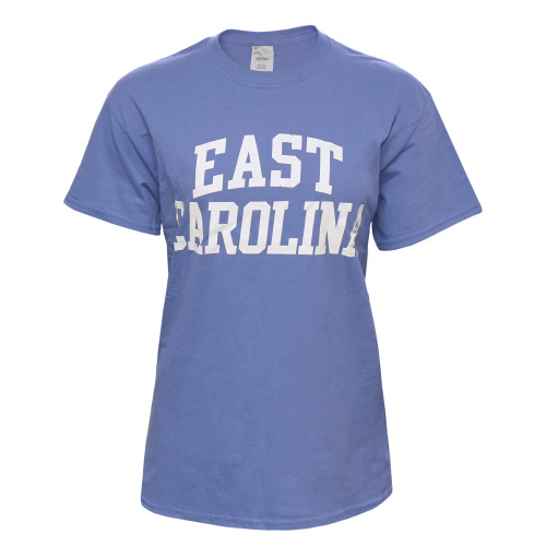 Violet Blue East Carolina Rainbow Tee