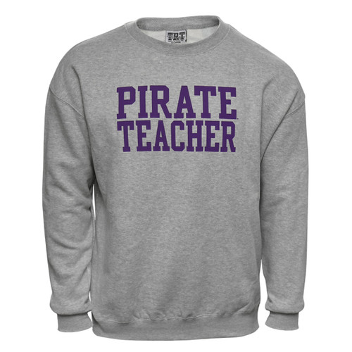 Oxford Pirate Teacher Crewneck Sweatshirt