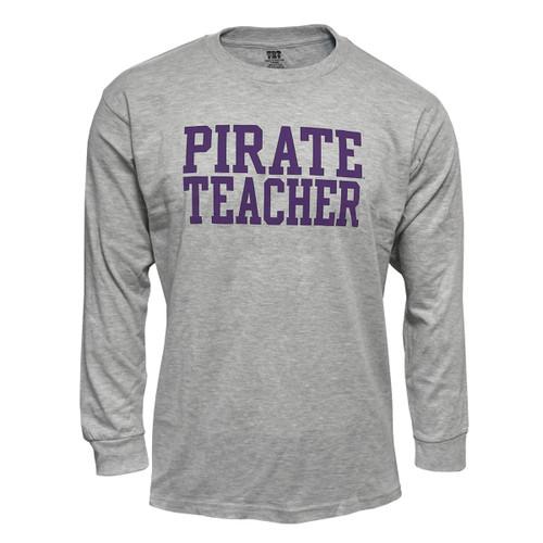 Oxford Long Sleeve Pirate Teacher Shirt