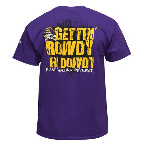 Purple Gett'n Rowdy in Dowdy Tee