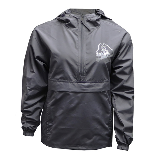 Grey with Reflective Jolly Roger Logo Pack and Go Jacket