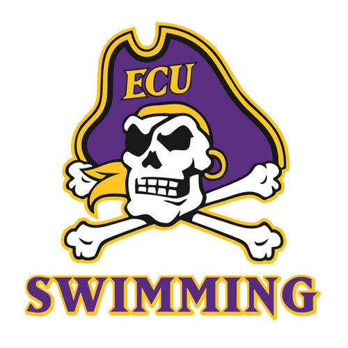 Jolly Roger Swimming Decal