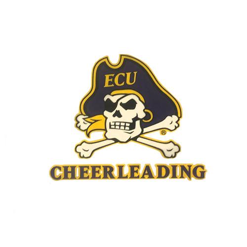 ECU Cheerleading Decal