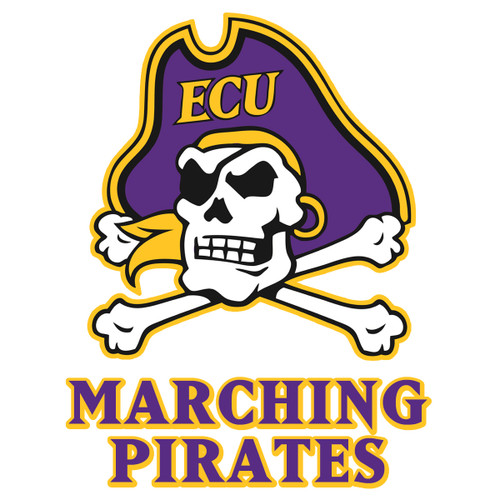 Jolly Roger Marching Pirates Decal