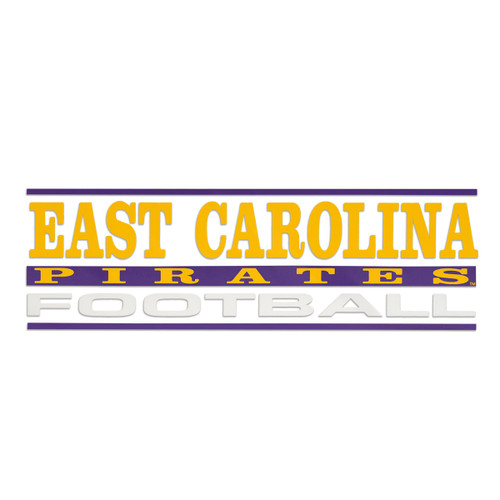 East Carolina Football Decal